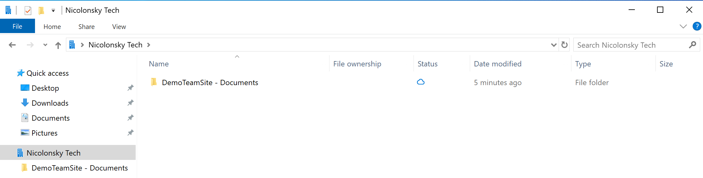 Configure OneDrive AutoMountTeamSites with Intune