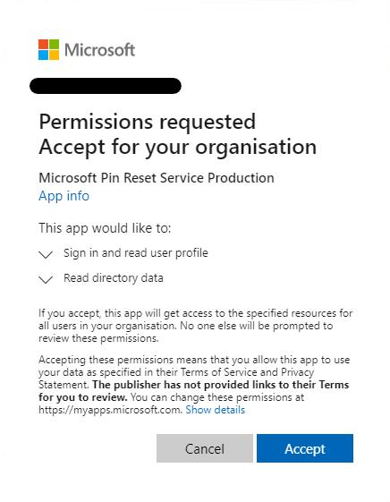 Windows Hello for Business Error CAA20004